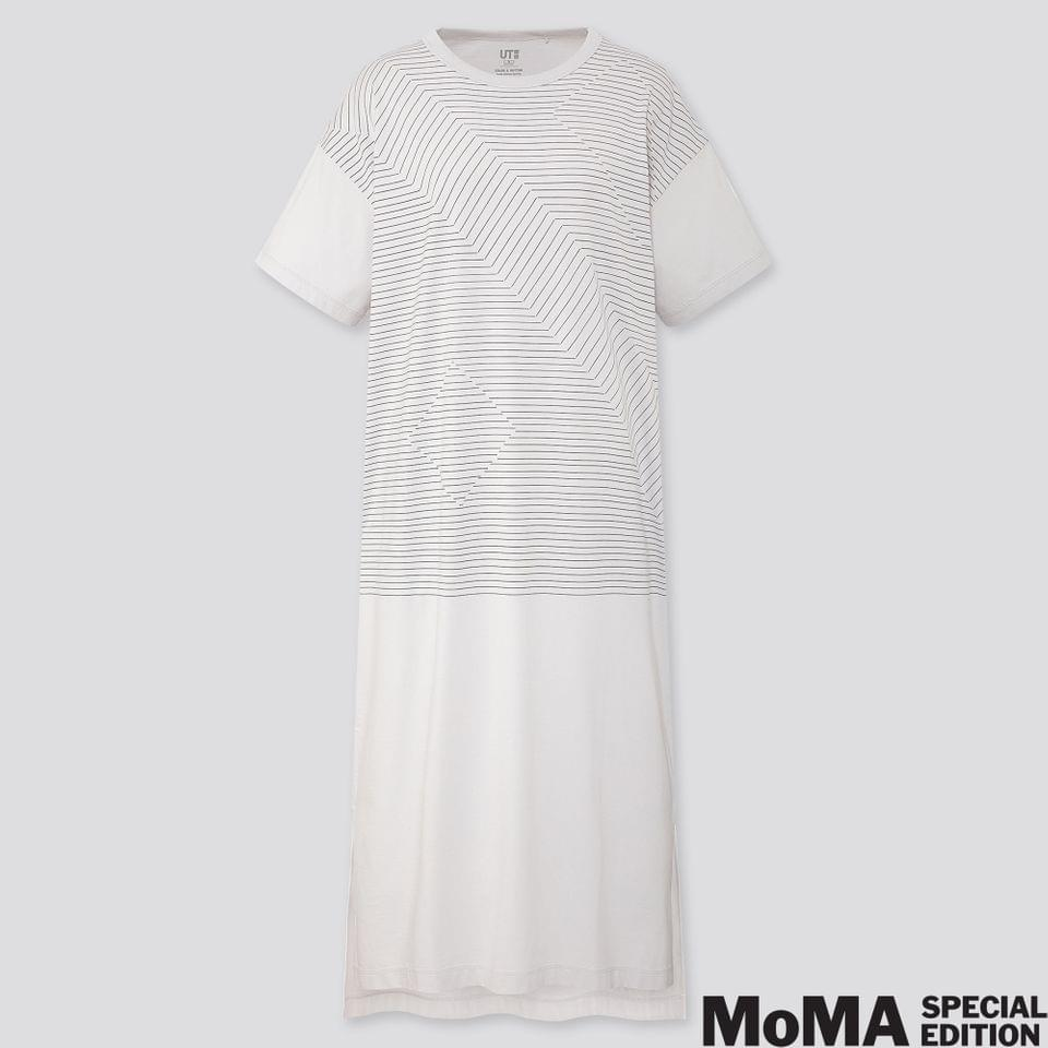 Women's WOMEN COLOR AND RHYTHM LYGIA PAPE SHORT-SLEEVE T-SHIRT DRESS