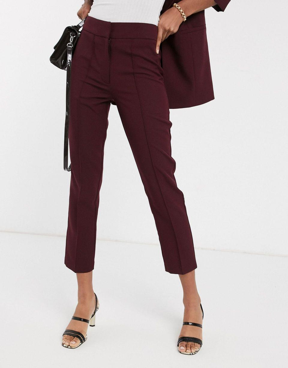 Women's mix & match tailored cigarette pants
