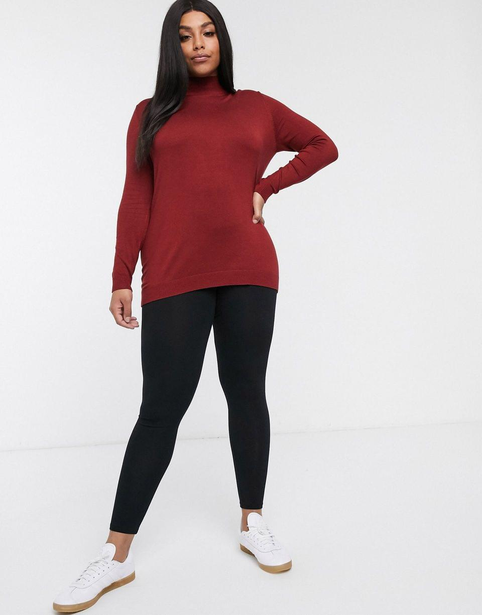 Women's Only Curve leggings in black