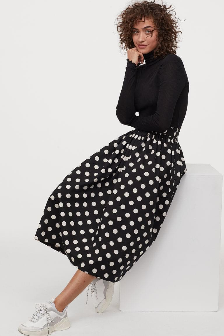 Women's Flared Skirt
