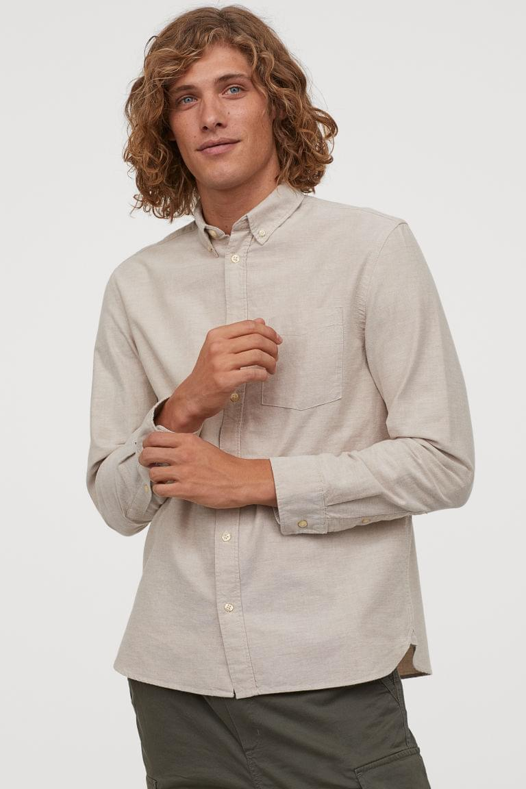 Men's Regular Fit Oxford Shirt