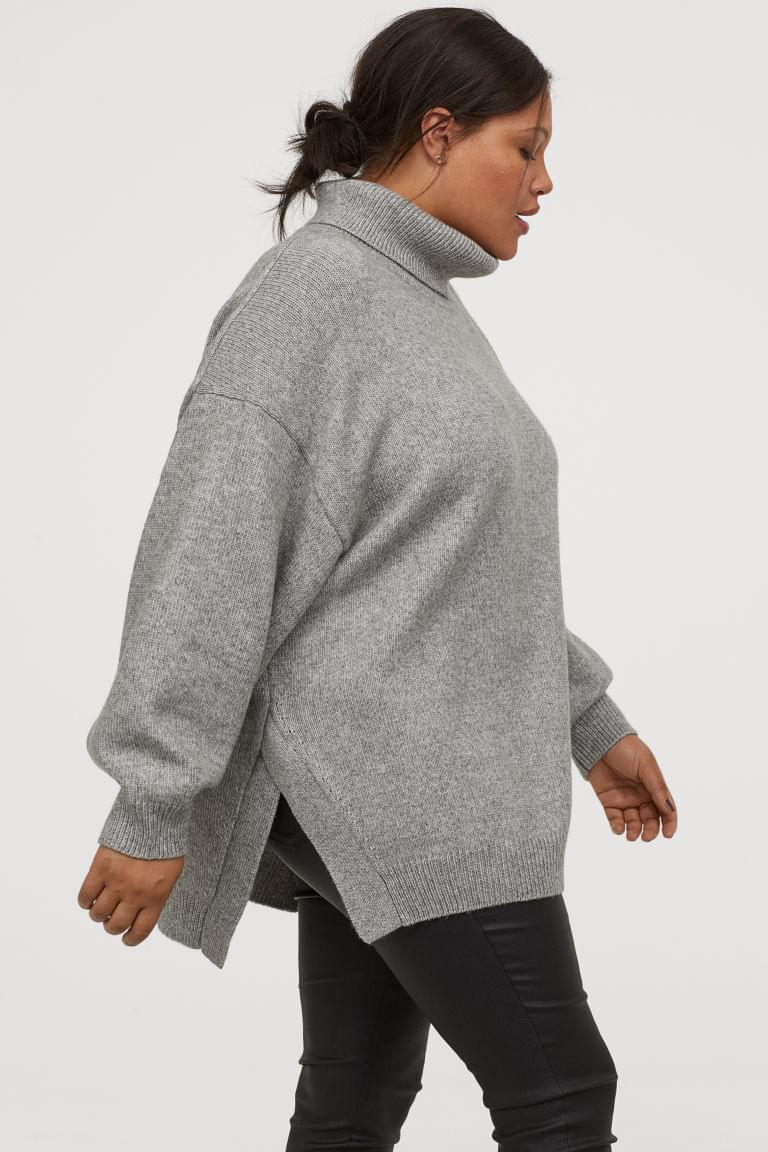 Women's H&M+ Turtleneck Sweater