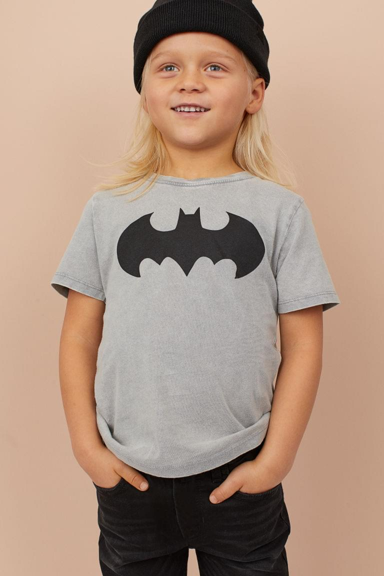 Boy's T-shirt with Printed Design
