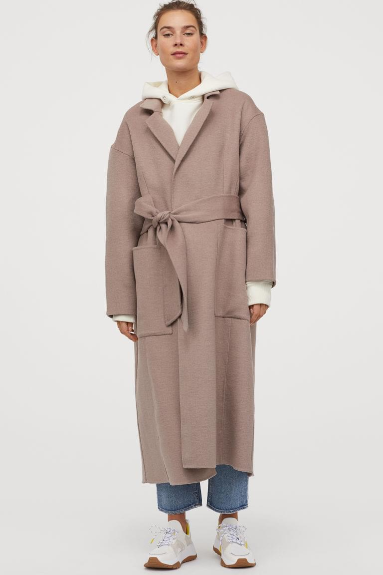 Women's Wool-blend Coat