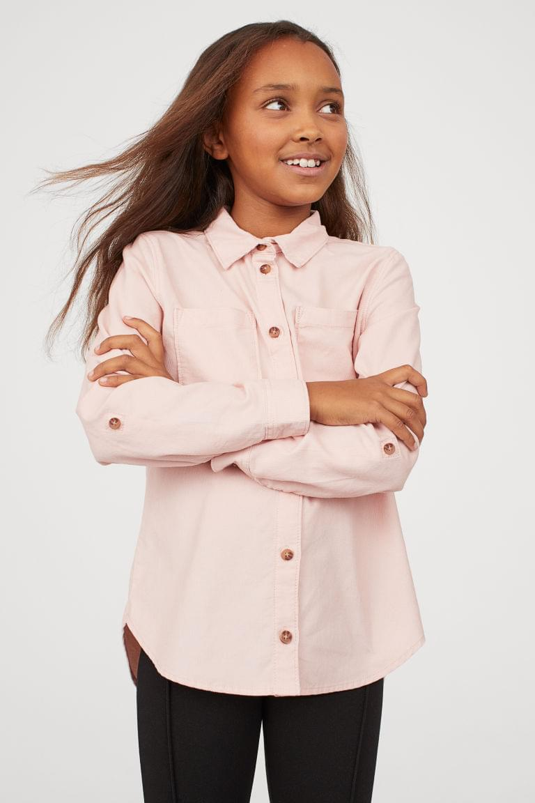 Girl's Corduroy Shirt