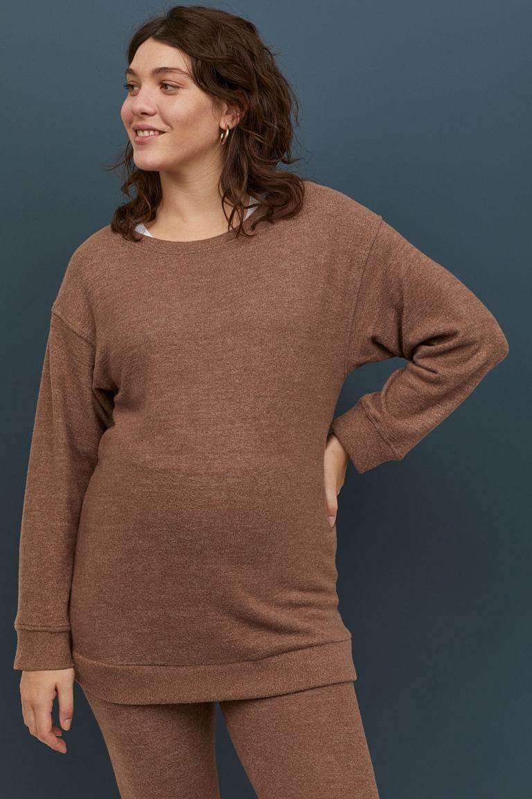 Women's MAMA Long-sleeved Top