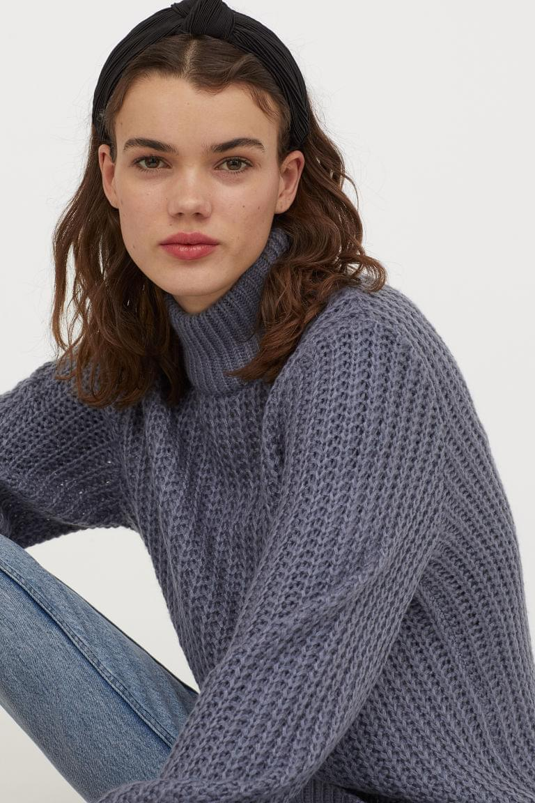 Women's Chunky-knit Sweater