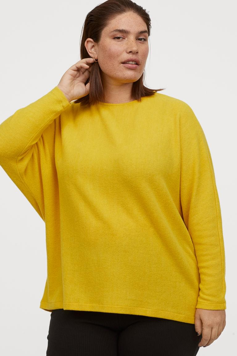 Women's H&M+ Dolman-sleeved Sweater