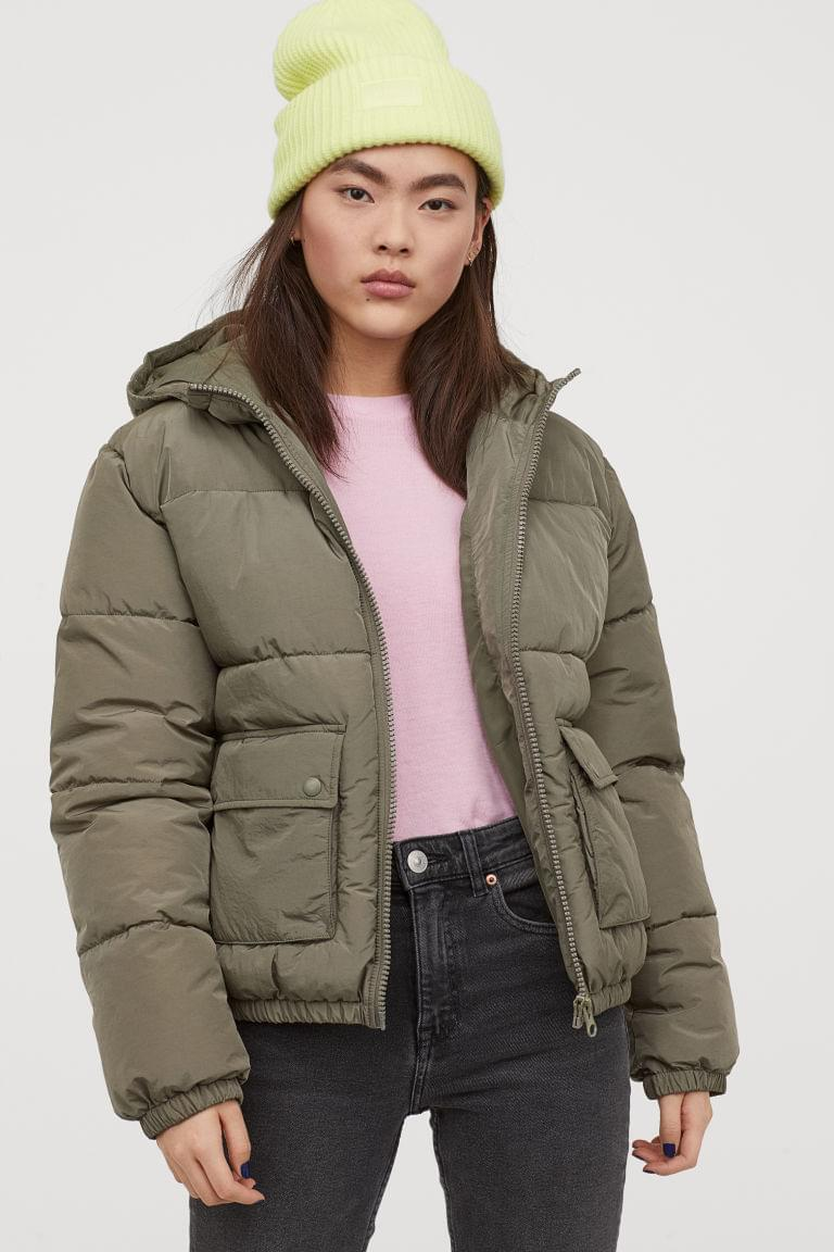 Women's Padded Hooded Jacket