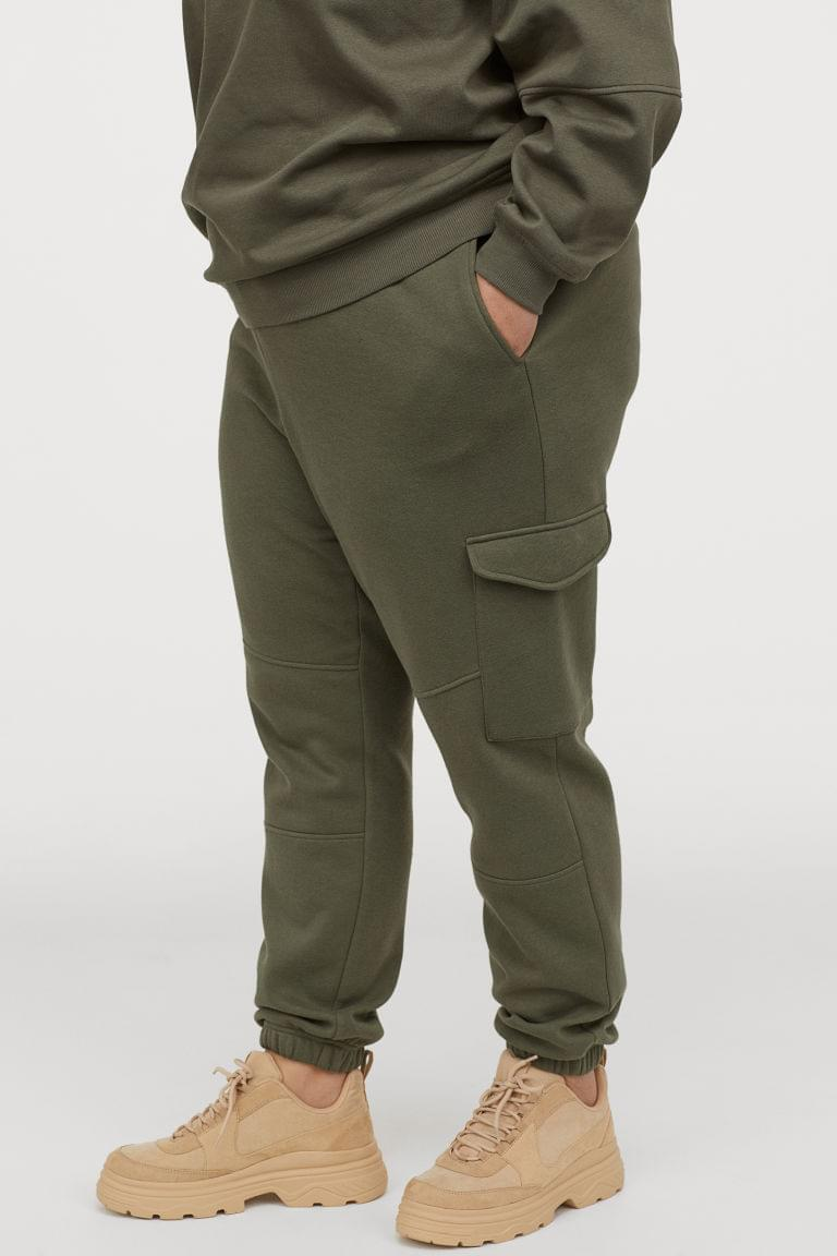 Women's H&M+ Joggers with Leg Pockets