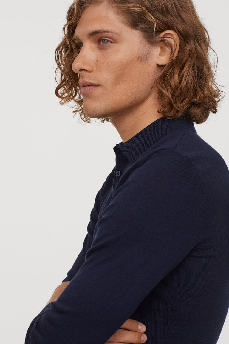 Men's Muscle Fit Polo Shirt