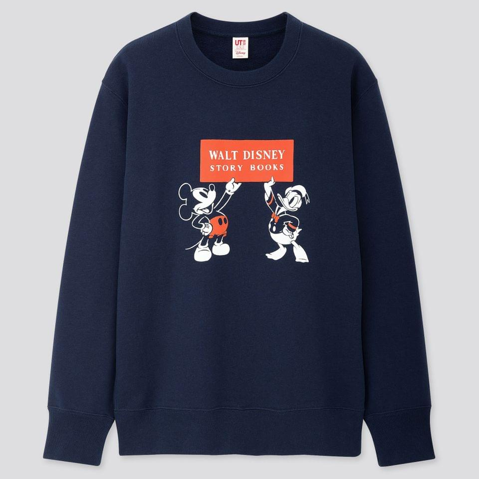Men's DISNEY STORIES LONG-SLEEVE SWEATSHIRT