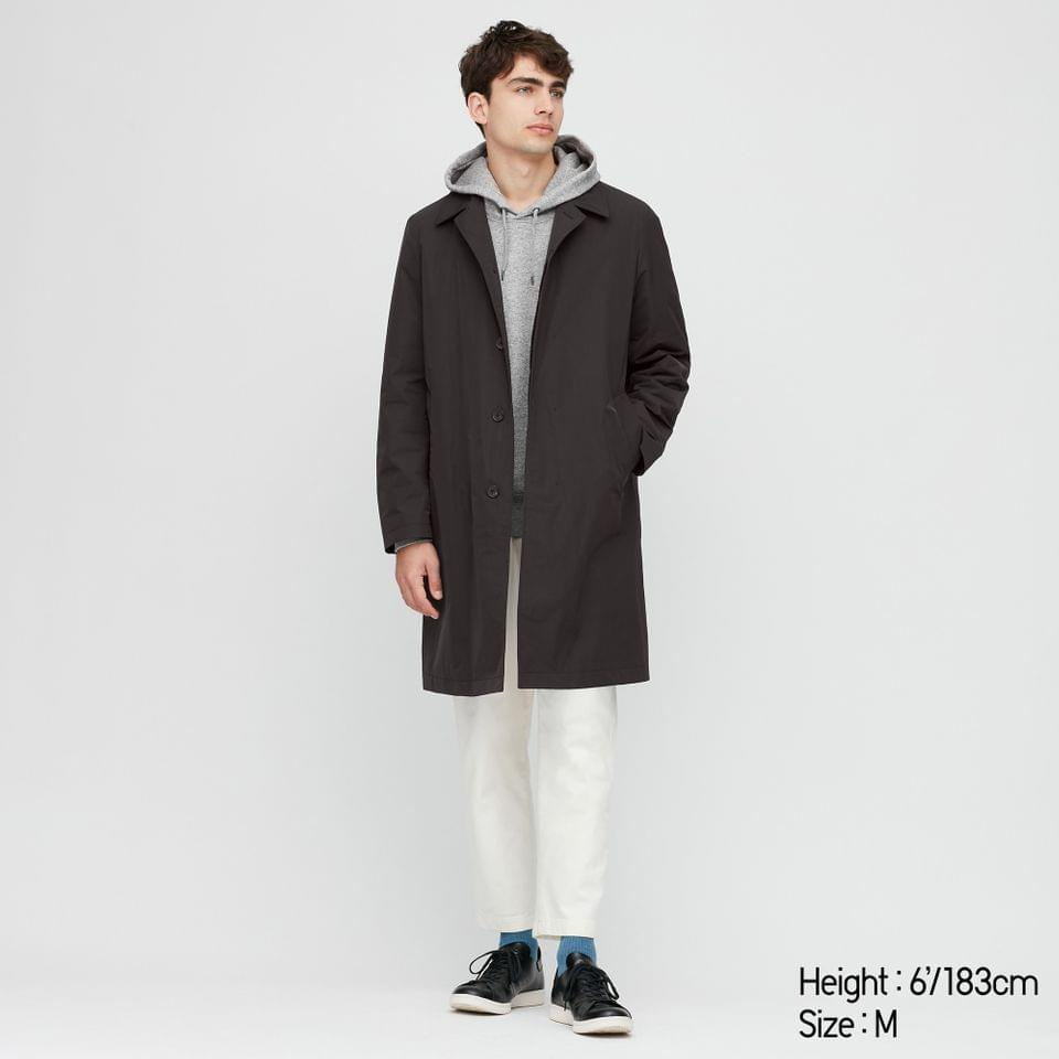 Men's MEN 2-WAY SINGLE BREASTED COAT