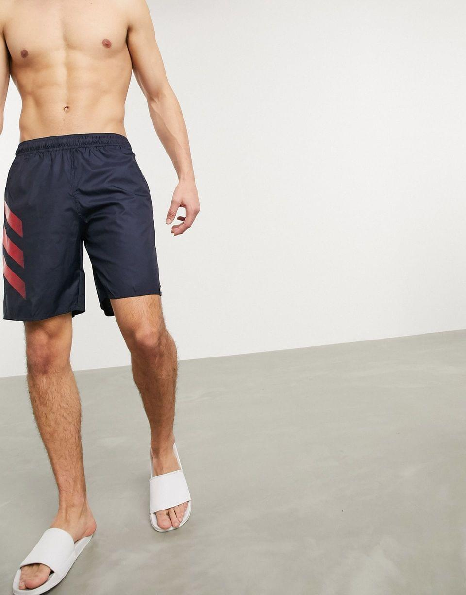Men's adidas Swim shorts with 3 stripes in navy