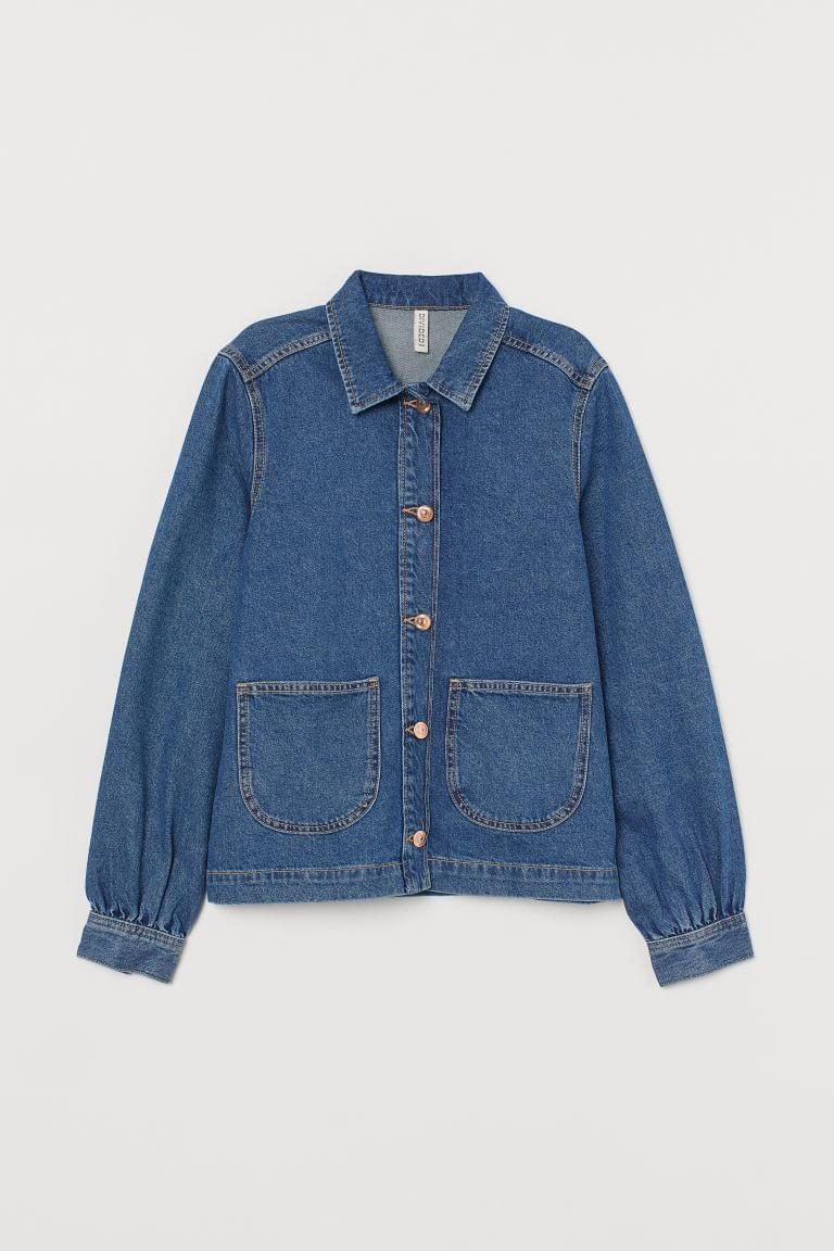 Women's Denim Shirt Jacket