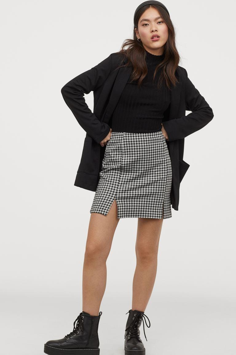 Women's Short Jersey Skirt