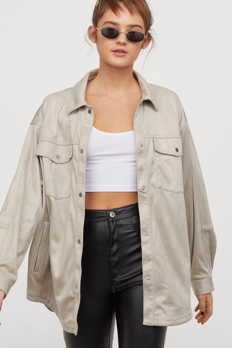 Women's Shirt Jacket