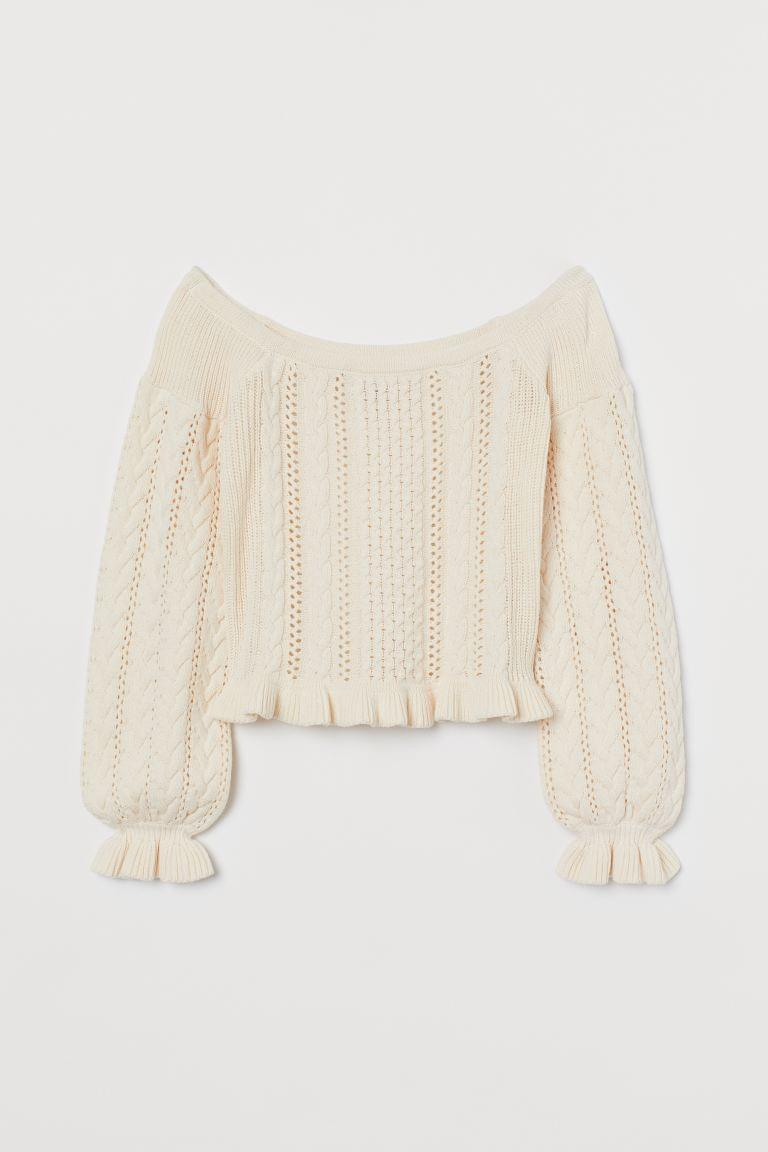 Women's Off-the-shoulder Sweater