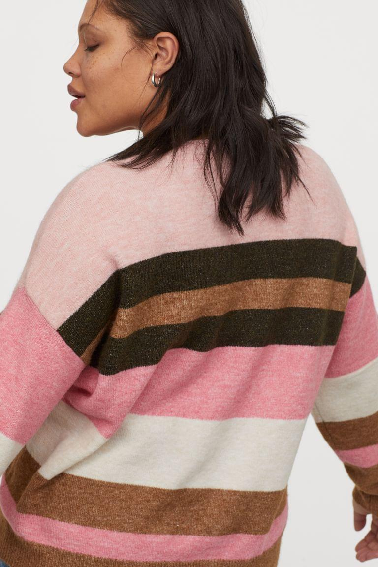 Women's H&M+ Fine-knit Sweater