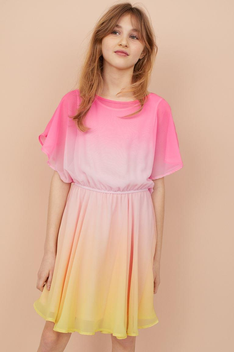 Girl's Chiffon Dress