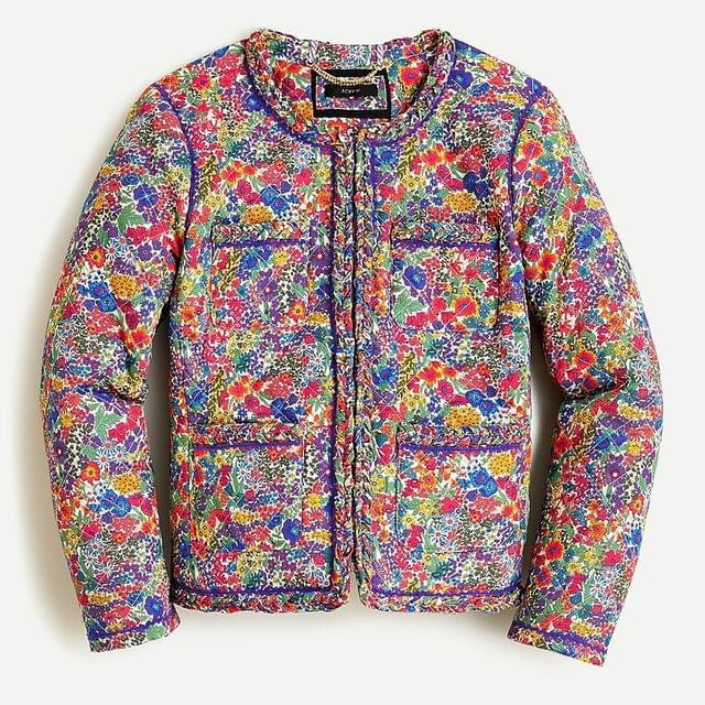 WOMEN Quilted lady jacket in Liberty Margaret Annie print