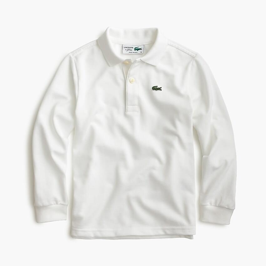 Boy's Kids' Lacoste for J.Crew long-sleeve polo shirt