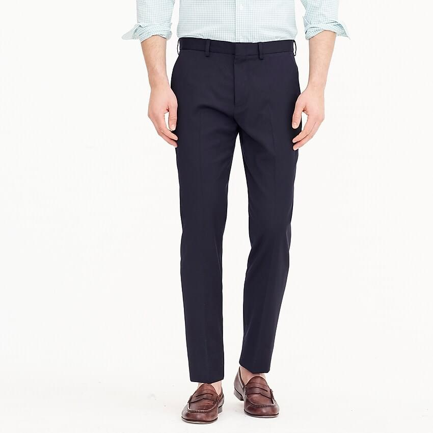 Men's Ludlow Slim-fit stretch dress pant in four-season wool