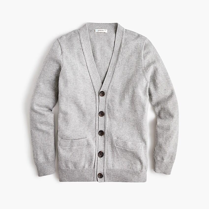 Boy's Boys' cotton-cashmere cardigan sweater