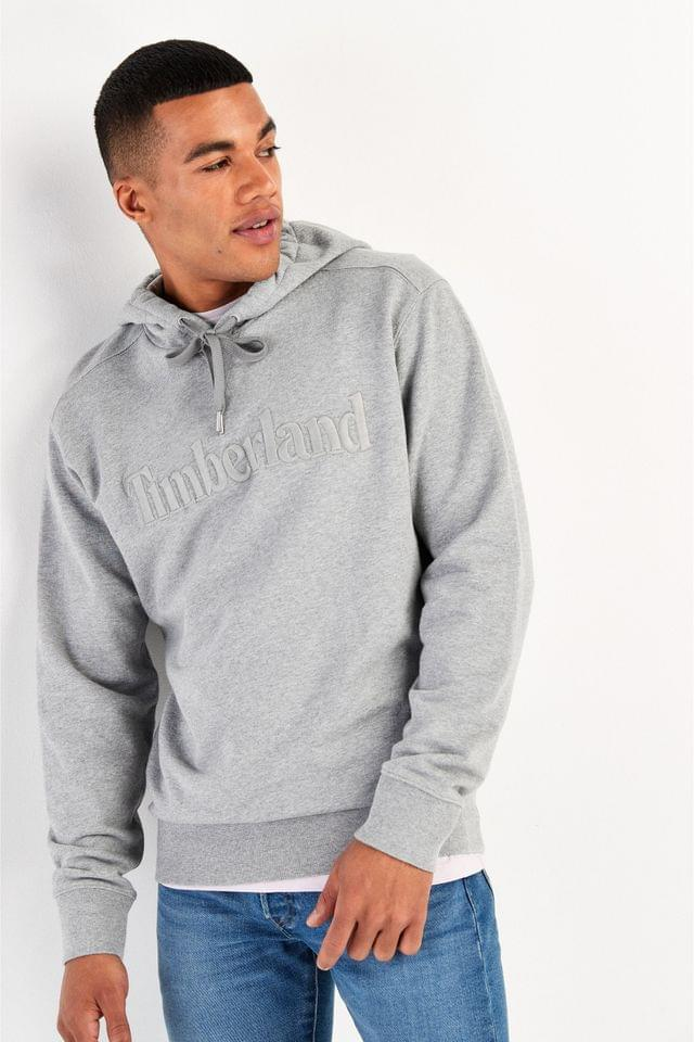 MEN Timberland Exeter River Logo Embroidered Hoody