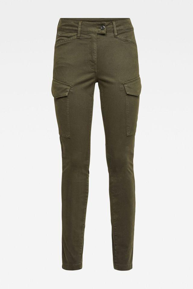 WOMEN G-Star Blossite Army Cargo High Skinny Trousers