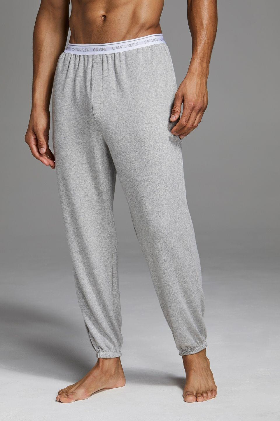 Men's Calvin Klein Grey Loungewear Joggers