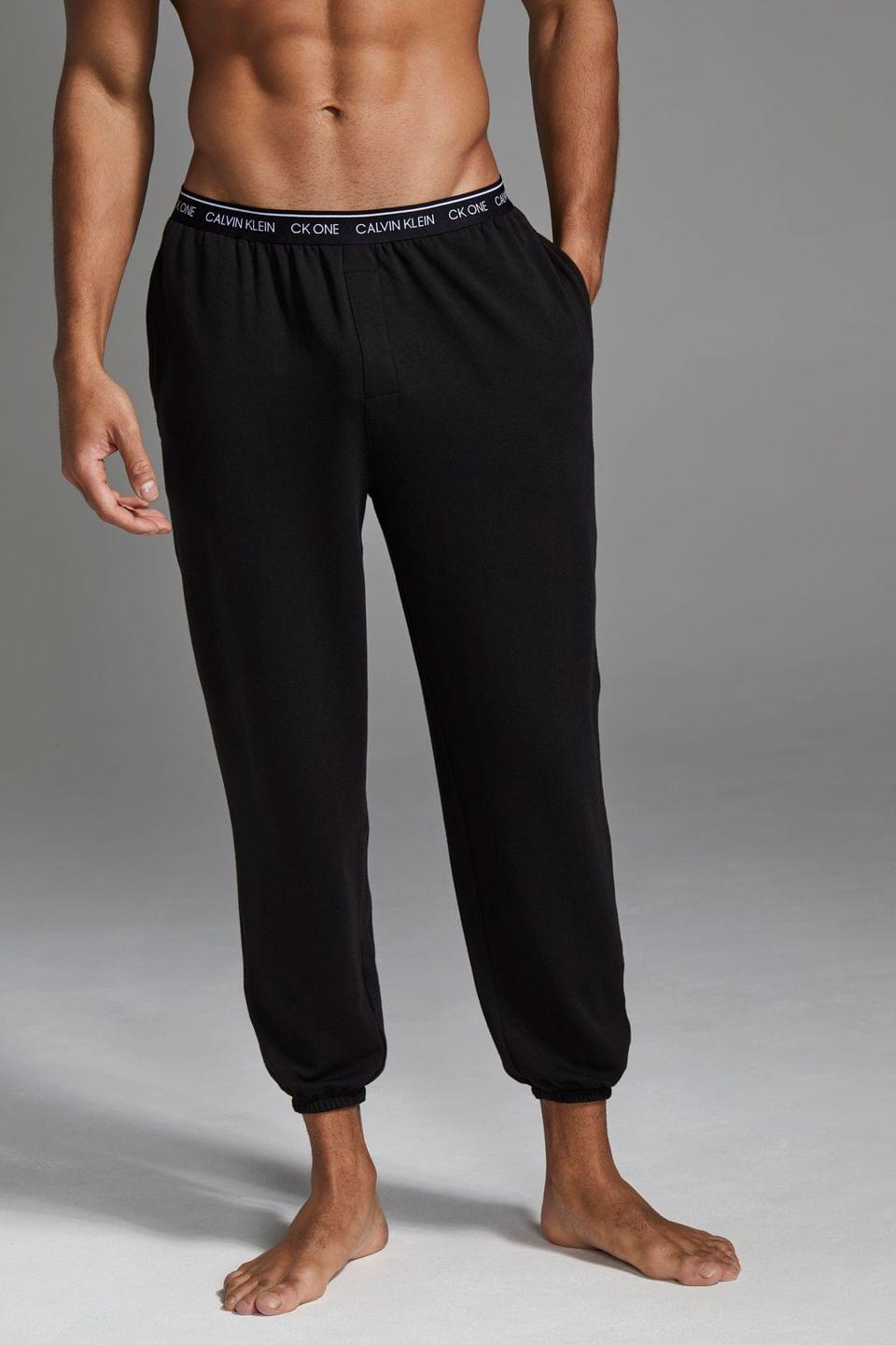 Men's Calvin Klein Black Loungewear Joggers