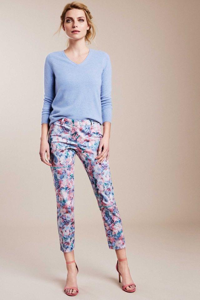WOMEN Pure Collection Pink Capri Trousers
