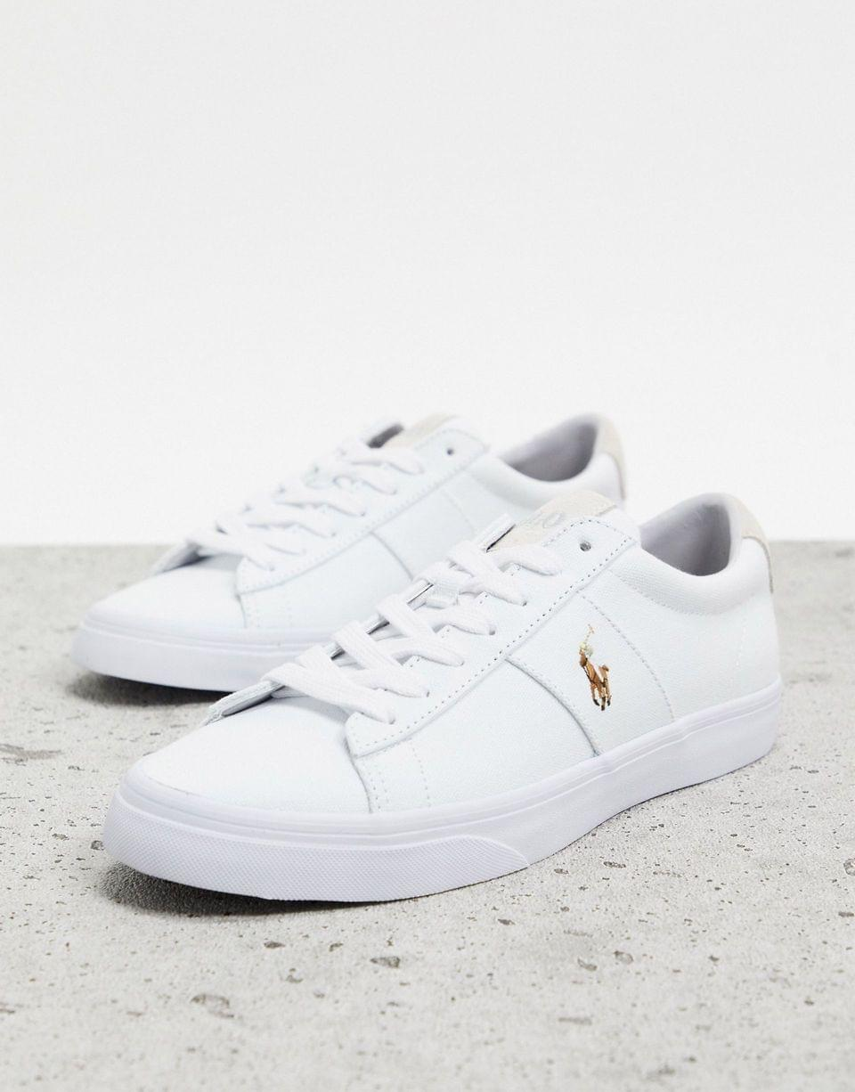 Polo Ralph Lauren sayer in white with contrasting logo