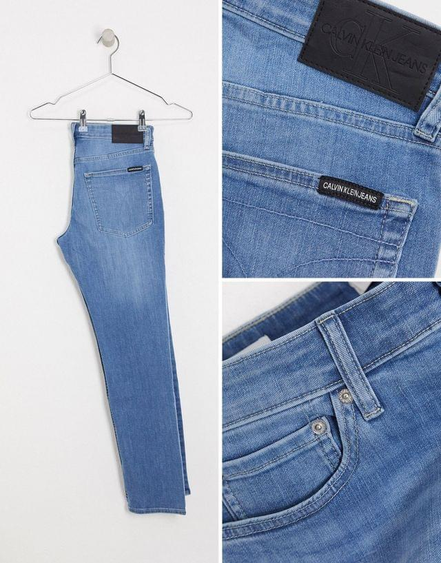 Men's Calvin Klein Jeans slim stretch jeans in astor place
