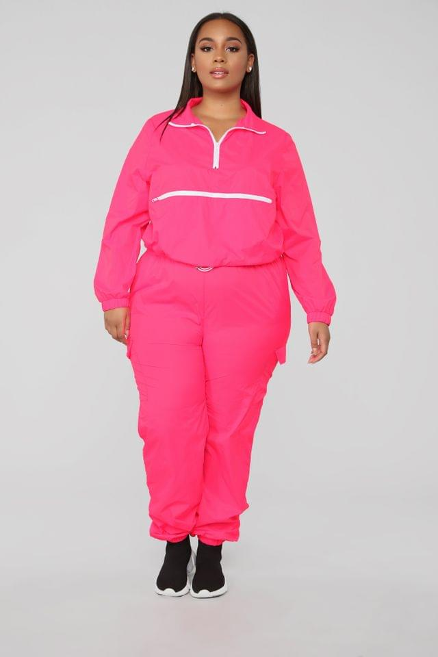 WOMEN Fit And Fab Lounge Set - Pink