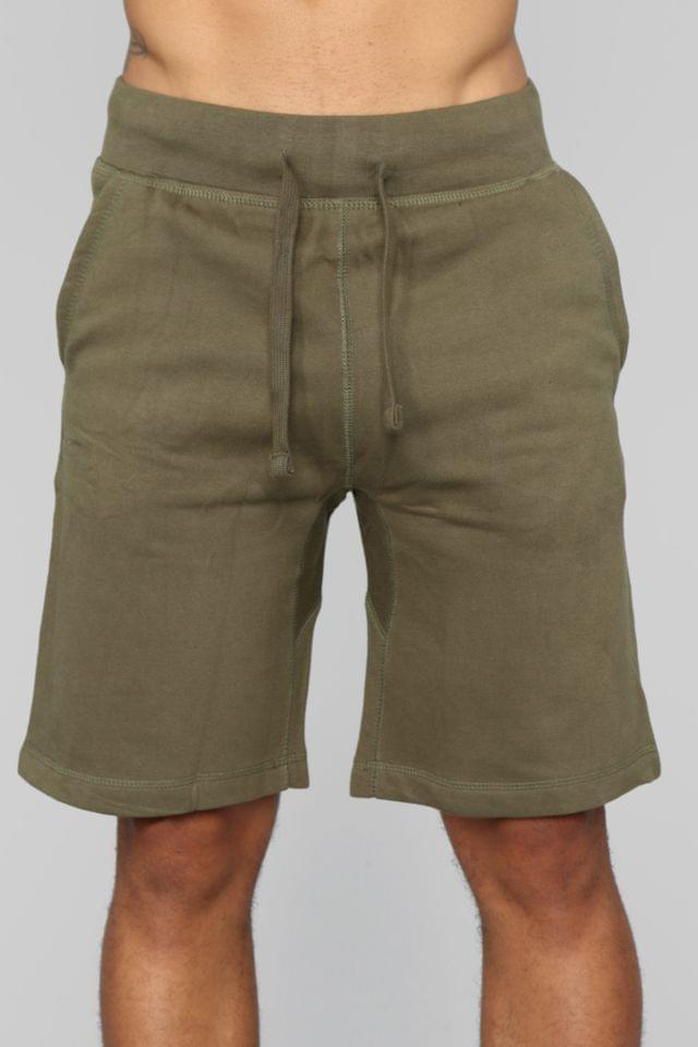 MEN Jimmy Sweat Shorts - Olive