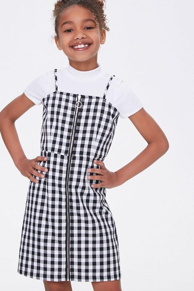 KIDS Girls Gingham Cami Dress (Kids)
