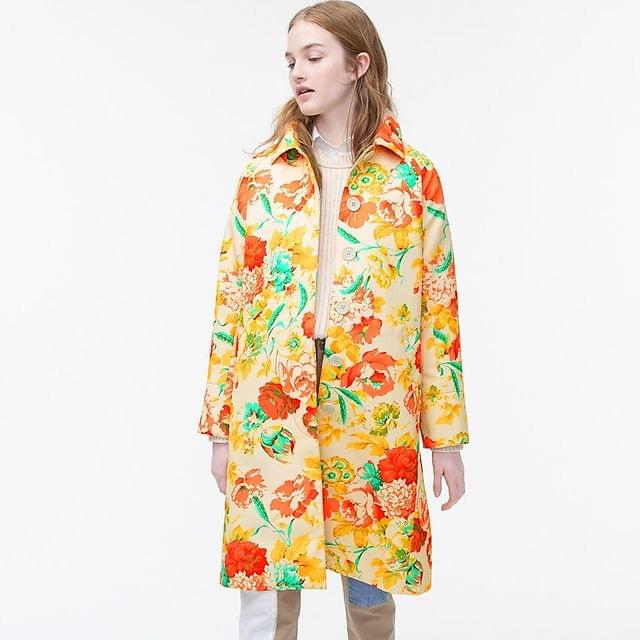 WOMEN Collection trench coat in Ratti Woodstock floral print