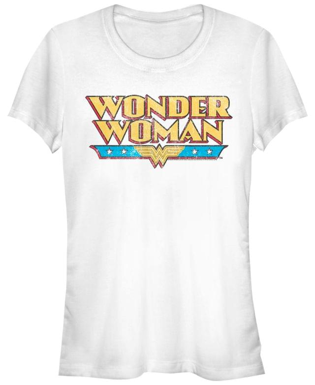 Women's DC Wonder Woman Retro Logo Women's Short Sleeve T-Shirt