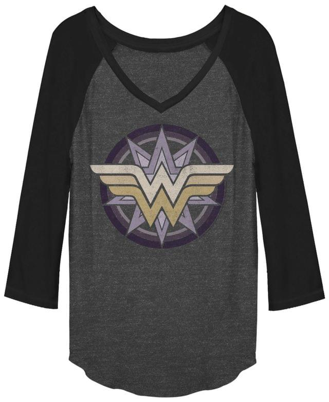 Women's DC Wonder Woman Raglan Baseball Women's T-Shirt