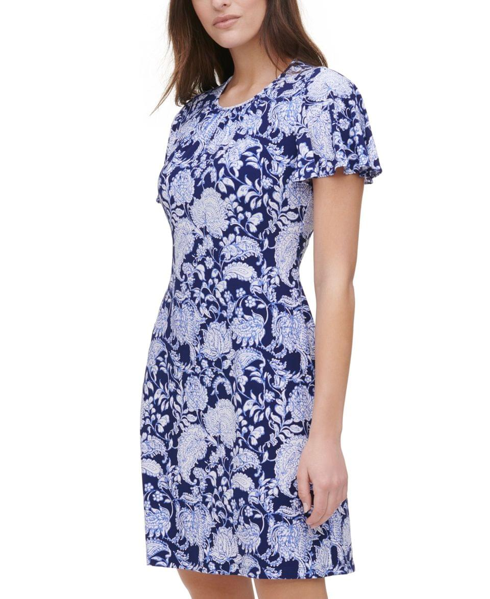 Women's Printed Shift Dress