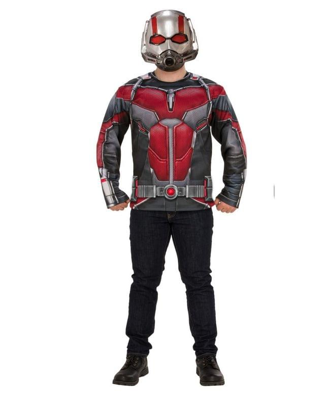 Men's BuySeason Men's Marvel Ant-Man and The Wasp Ant-Man Costume Top Set
