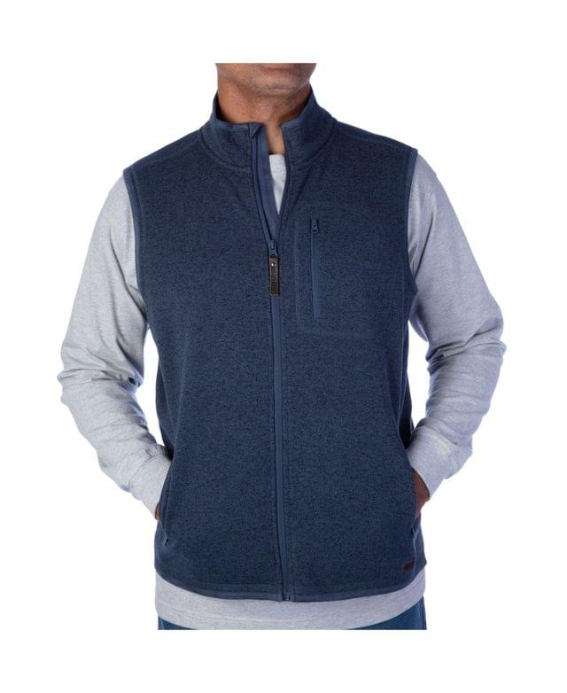 Men's Men's Full Zip Sweater Vest