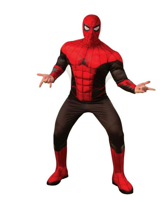 Men's Spider- Man Far From Home Spider- Man Deluxe Adult Costume