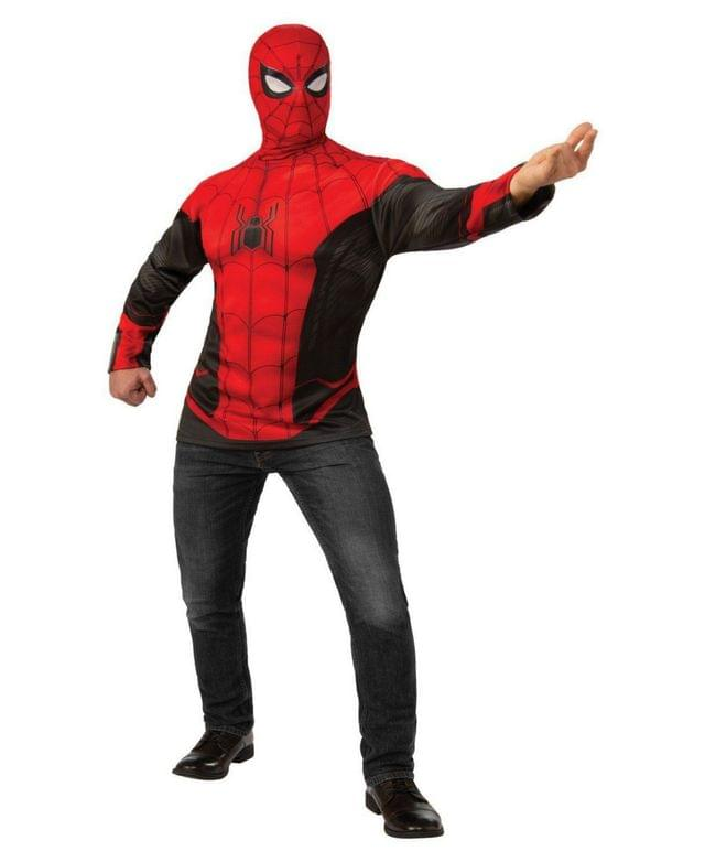 Men's Spider-Man Far From Home Spider-Man Costume Top