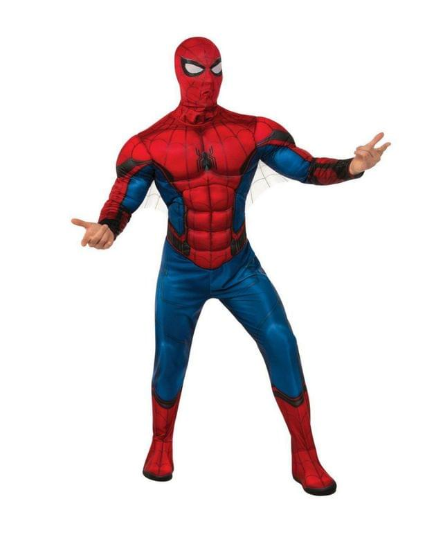 Men's Spider-Man Far From Home Spider-Man Deluxe Adult Costume