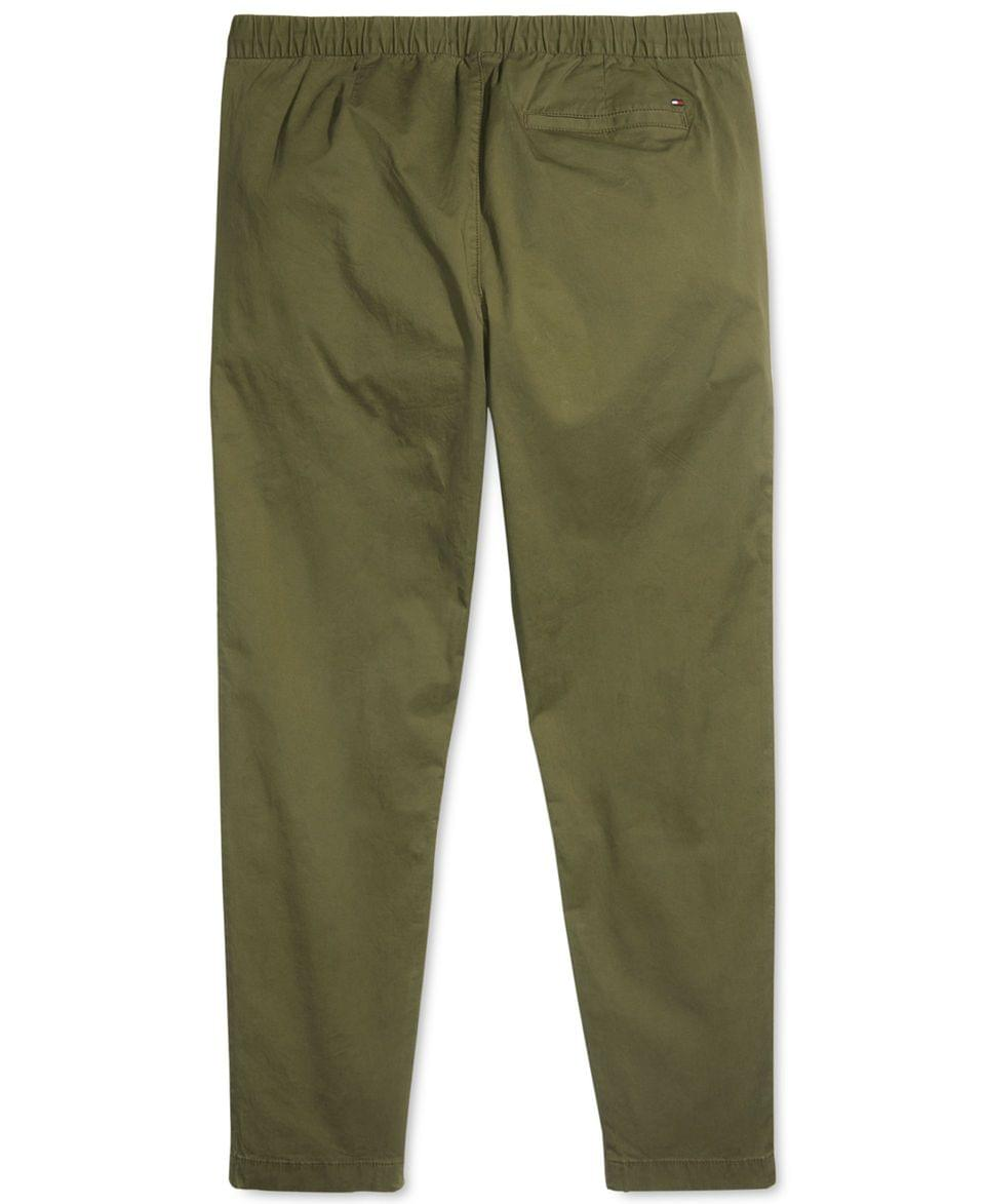 Men's Men's Jogger Sweatpants with One Handed Drawstring and Zippers