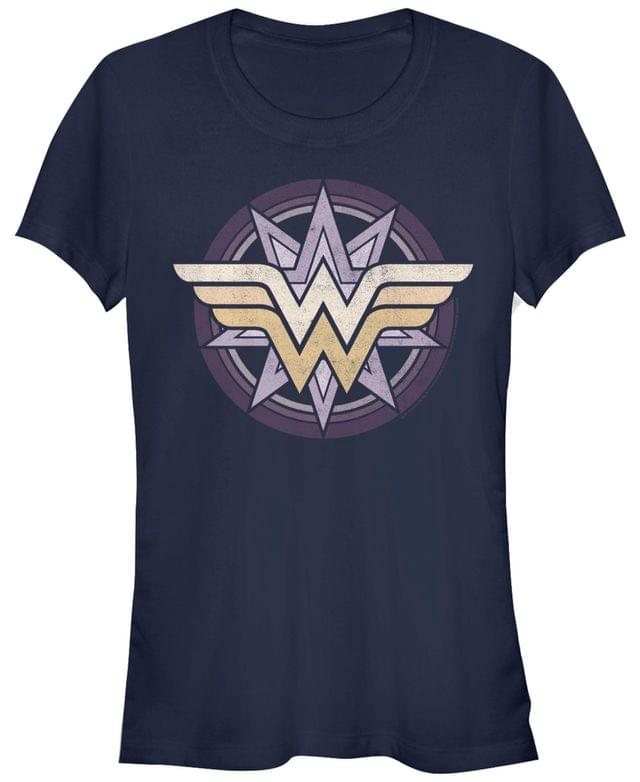 Women's DC Wonder Woman Star Logo Women's Short Sleeve T-Shirt