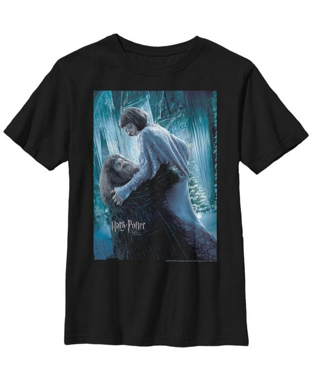 KIDS Harry Potter The Goblet of Fire Hagrid and Madame Maxime Poster Little and Big Boy Short Sleeve T-Shirt